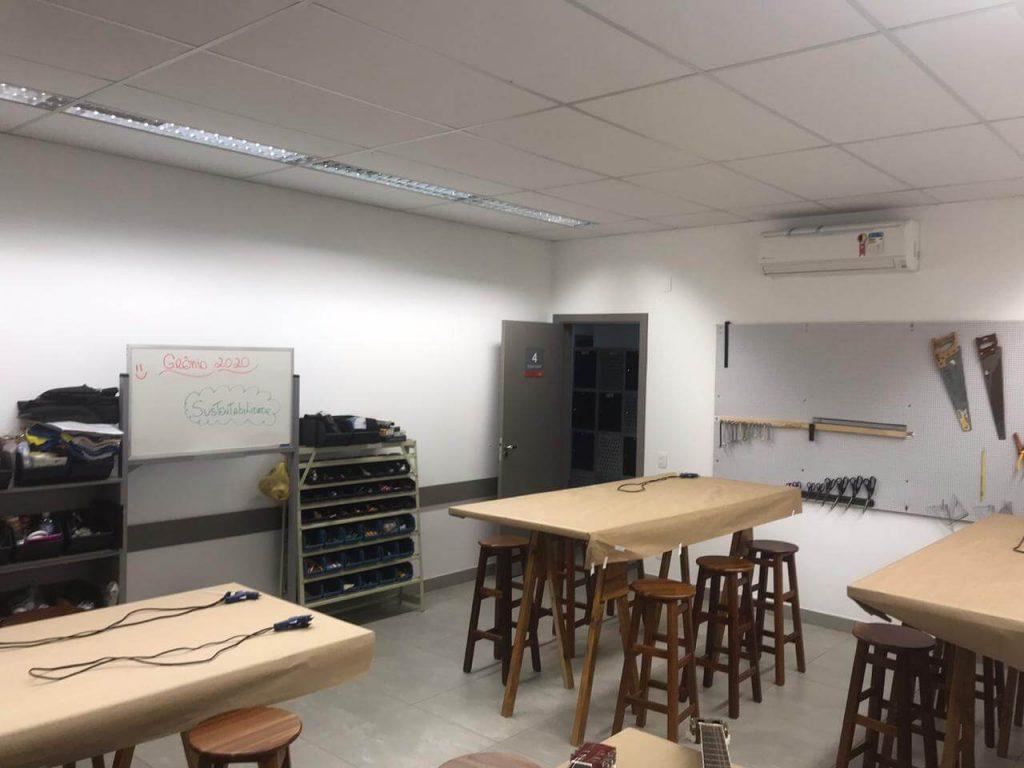 unidade pandora sala de aula